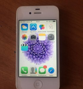 iPhone 4s белый 16 gb