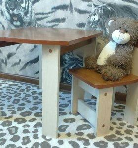 Детский столик+стульчик