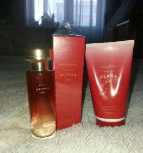 Набор Avon Alpha (восточно фруктовый аромат)