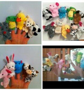 Новый набор игрушек на пальцы