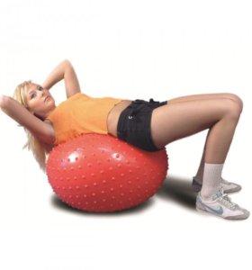 Мяч массажный с шариками