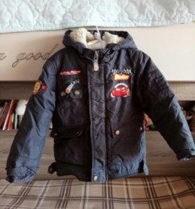 Куртка маквин тачки 110 116