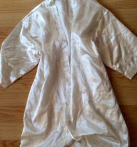 Шёлковый халат 44-50 размер