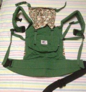 Слинг рюкзак кенгуру Ergo baby + сумочка