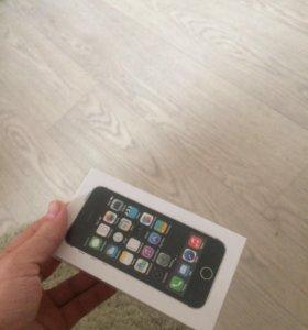 Запечатанный iPhone 5s