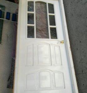 Деревяная дверь