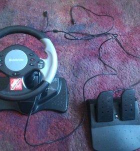 Defender extreme turbo игровой руль