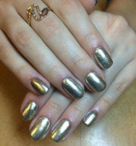 Укрепление натуральных ногтей