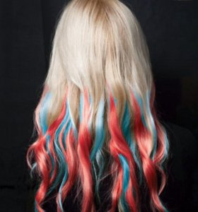 Цветные мелки для окрашивания волос для домашнего