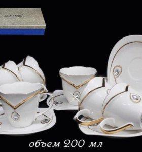 Элитная посуда. Чайный набор на 12 пр.,Алмаз