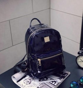 Переливающийся женский рюкзак
