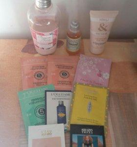 Loccitane пакетом + подарок косметичка
