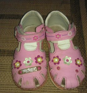Кожаные сандали Тотошка