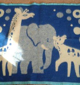 Детское шерстянное одеяло