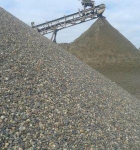 Песок щебень гравий пгс