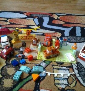 Машинки  (Тачки лего) игровой набор