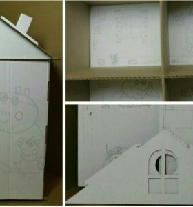 Домик для Свинки Пеппы, игрушка-конструктор