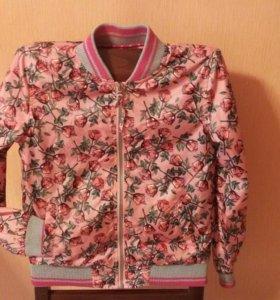 Куртка-ветровка весна-лето-теплая осень