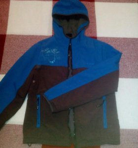 Куртка-ветровка на флисе ALONSA (рост до 164см)