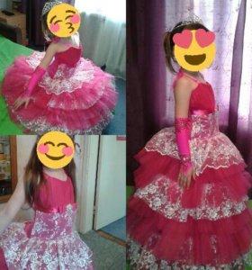Платье бальное!
