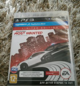 NFS Most Wanted для PS 3