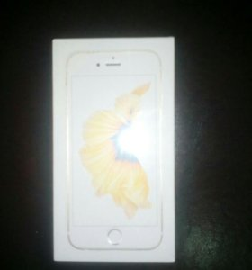 Iphone 6S 128 Gb Gold новый