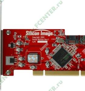 """Контроллер SATA/RAID Silicon Image """"SiL3112 PCI"""
