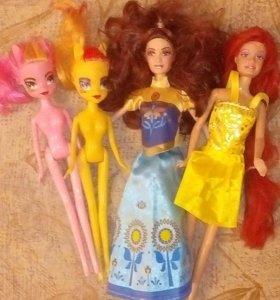 Куклы 4 штуки