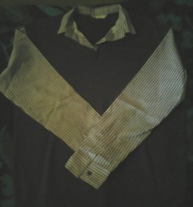 Рубашка-джемпер новый