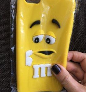 Чехол - бампер на iPhone 6/6s Plus новый в упаковк