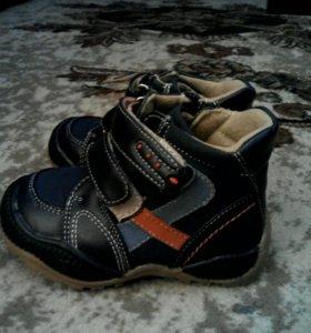 Новые ботинки 20 р-р