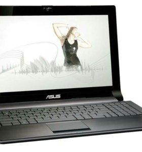 Игровой, быстрый ноутбук Asus N53JGна базе Core i3