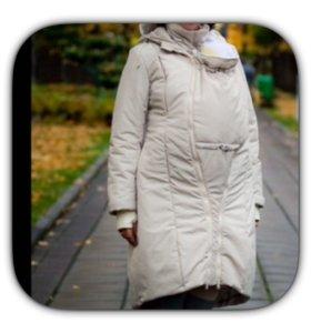 Куртка для беременных слингопальто 6 в1