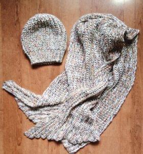 Шапка + шарф ZARA