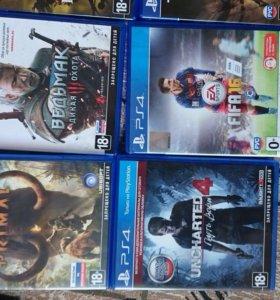 Продам игры на PlayStation 4