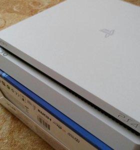 Sony Playstation 4 slim 500gb + 2 джойстика
