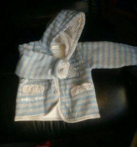 Детские куртка и кофта