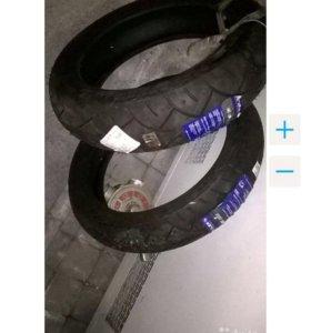 Новые шины для мотоцикла
