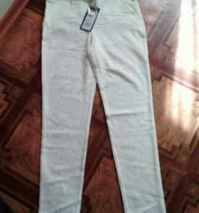 Новые гипюровые брюки 44 р
