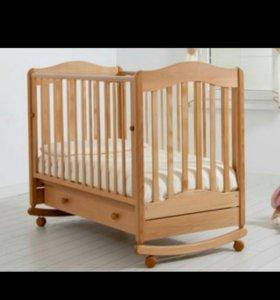 Детская кроватка Ванечка