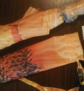 Новый женский зонт с рисунком подсолнуха