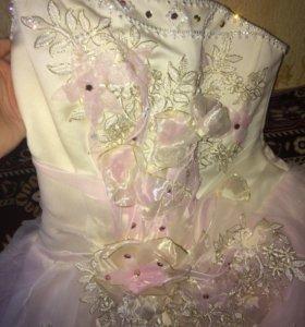 Свадебное платье,камни сваровски