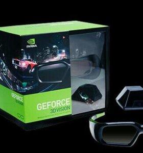 Стереоскопические очки GeForce 3D Vis