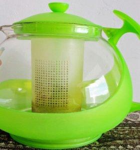 Чайник для заварки лечебных трав, б/у