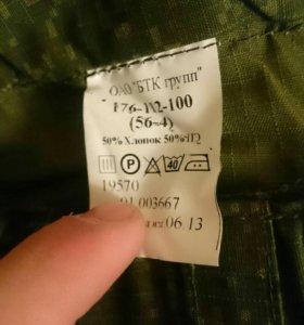 Военная форма:китель, штаны. Размер 56-4.