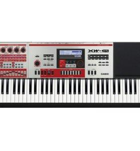 CASIO XW-G1 Профессиональный синтезатор
