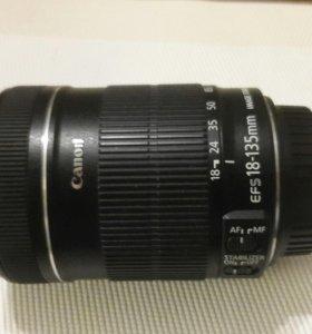 Объектив canon EFS 18-135 mm