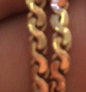 золотая цепочка цепь