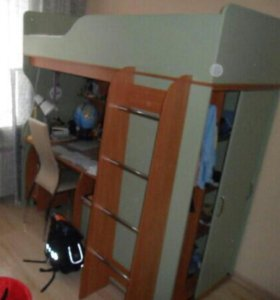Детская мебель (кровать чердак)
