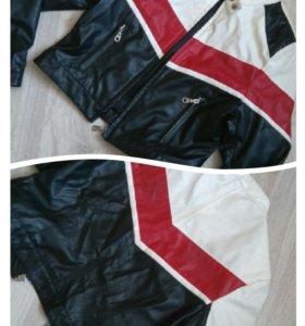 Куртка кожзам 150 рост